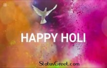Happy Holi Whatsapp Status Video Lovely Holi Message