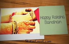 Raksha bandhan WhatsApp status video