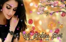 Dil Kehta Hai Love  WhatsApp Status Video Download